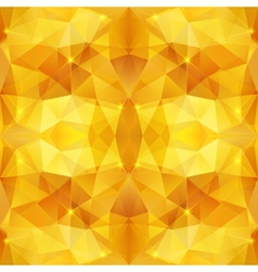 Honey crystal abstract pattern vector