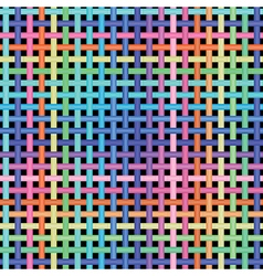 Crossed-pattern vector