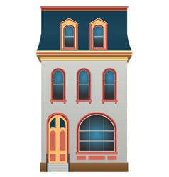 house vector image