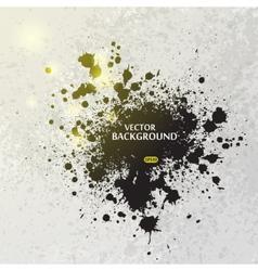 Ink blots splash background vector