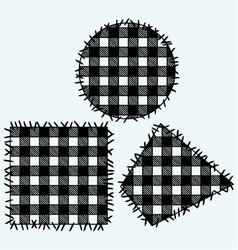 Set patchwork vector image