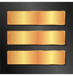 Black and golden background vector