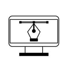 Computer electronic work vector