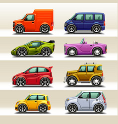 Car icon set-2 vector