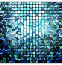 abstract modern Mosaic pattern vector image