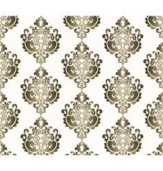 Classic style ornament damask pattern vector