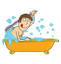 Bathtub time vector