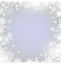 Christmas background in pastel colors vector image