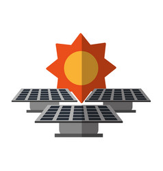 Clean energy related icon image vector