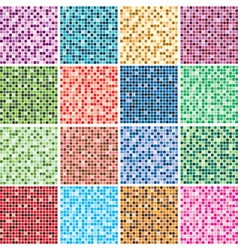 colorful tile backgrounds vector image vector image