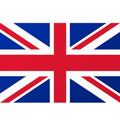 Great Britain United Kingdom flag vector image