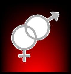 sex symbol style vector image