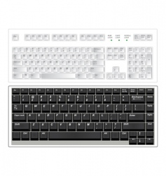 Keyboards vector