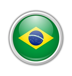 Brazilian icon vector