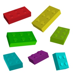 construct toys vector image