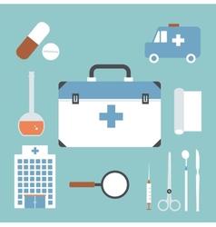 Emergency doctor vector
