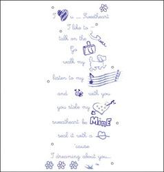Love infographic vector
