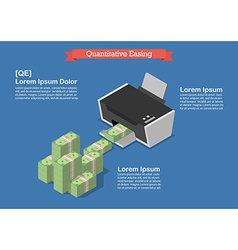Quantitative easing vector