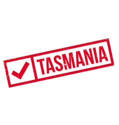Tasmania rubber stamp vector