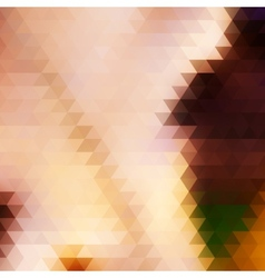 Abstract geometrical multicolored background vector