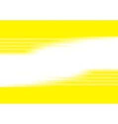 Yellow blurred stripes bright corporate background vector