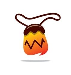 Tobacco Pouch Cartoon vector image