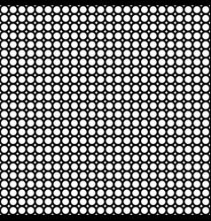 circles mesh pattern vector image vector image
