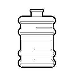 Water gallon vector