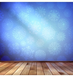 Christmas decor blue bright eps 10 vector