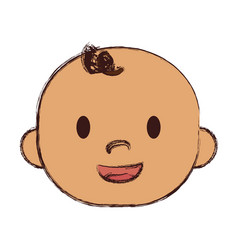 Baby boy icon vector