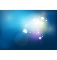 Blue shiny sky modern abstract light background vector