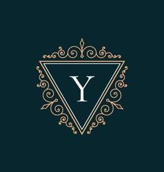 Luxury logo vector