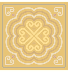 Motifs from traditional culture Laos and Thailand vector image vector image