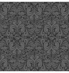 Seamless vintage dark gray background vector