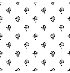Two flowers pattern simple style vector
