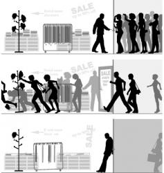 Store sale vector