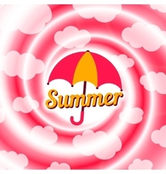 Sale swirl summer background vector