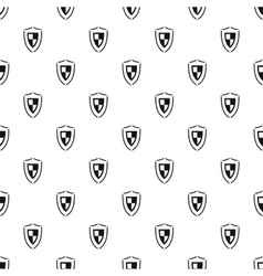 Army shield pattern simple style vector
