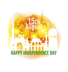 India independence day greeting vector