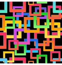 Seamless texture abstract geometric pattern vector