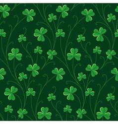 St patrick pattern vector image