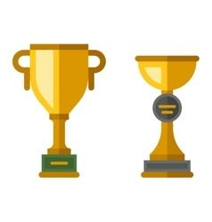 Champion cup icon vector image vector image