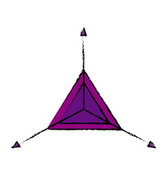 Graphic design angle creative tool vector