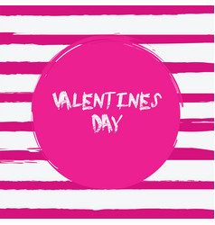 grunge happy valentines day vector image vector image