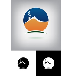 House logos vector image