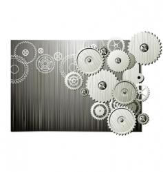mechanical wheels vector image