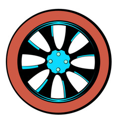 Rotor icon cartoon vector