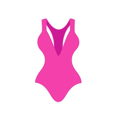 Swimsuit vector image vector image