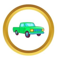 Pickup icon vector