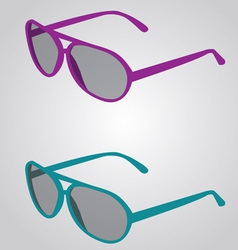 Sunglass vector image